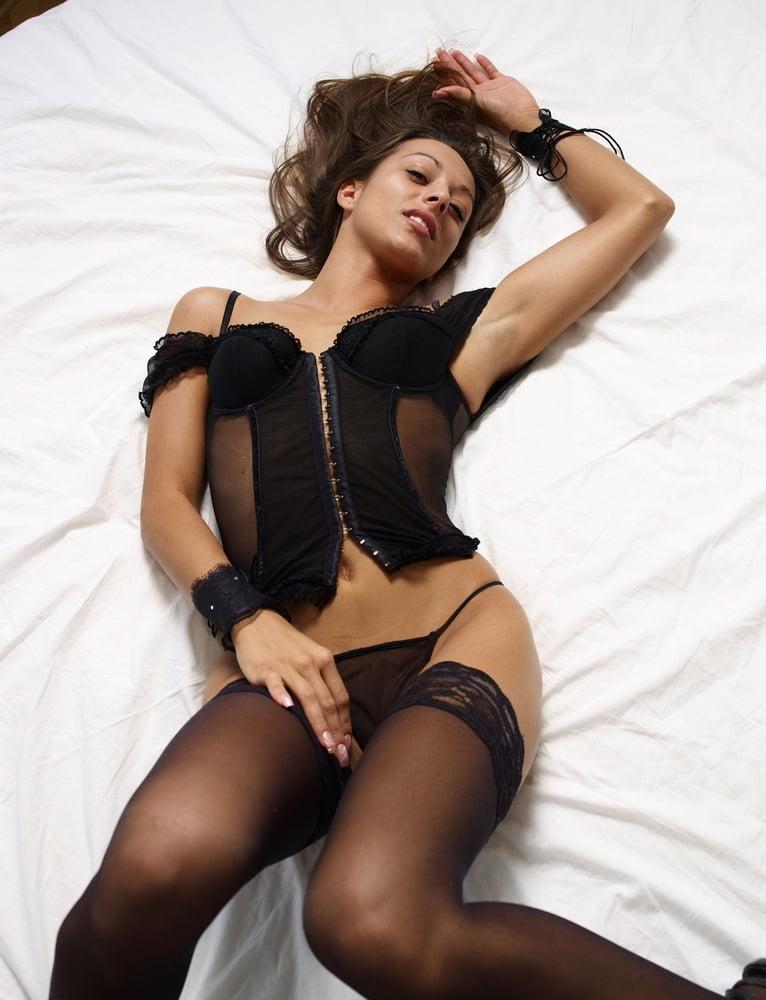 Sexy zwarte lingerie